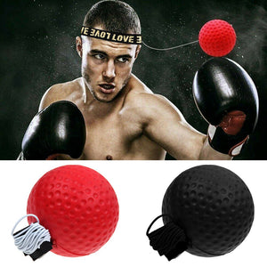 Boxing Fight Ball With Head Band For Reflex Speed Training Punch Exercise