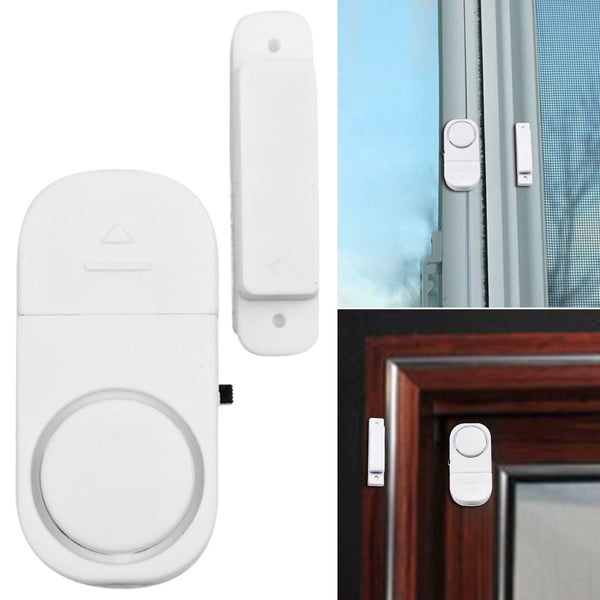 Wireless Home Window Door Burglar Security ALARM System Magnetic Sensor