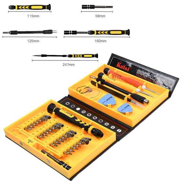 38-in-1 Precision Torx Screwdrivers Kit Repair Opening Phone Tools Set
