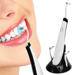 LED Teeth Tooth Stain Whitening Cleaner Polishing Plaque Oral Remover Tool