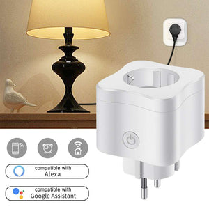 WIFI Smart Power Socket Wireless Time APP Control
