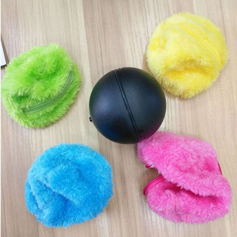 Automatic Rolling Vacuum Floor Sweeping Ball Robot Cleaner Microfiber