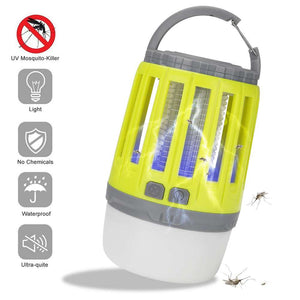 2in1 LED Light Lamp Ultraviolet Mosquito Killer USB Rechargeable Home