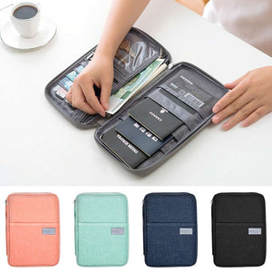 Travel Wallet Family Passport Holder Waterproof ID Card