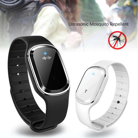 Ultrasonic Kids Adult Mosquito Repellent Bracelet Sport Outdoor