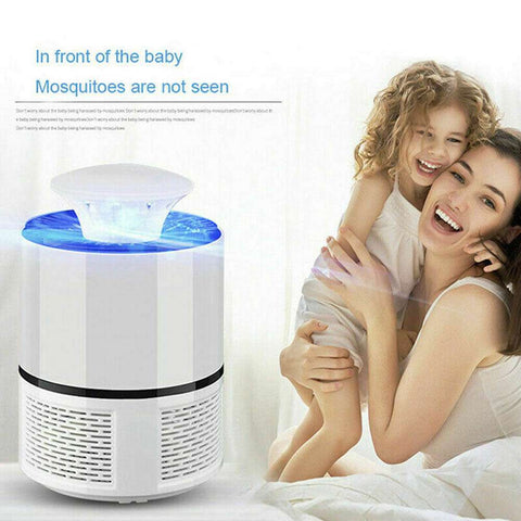 Electric Zapper Mosquito Killer Lamp USB Fly Bug Pest Trap Killer LED Lamp