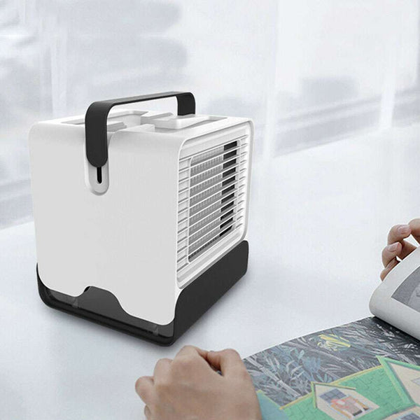 Portable USB Mini Negative ion Cool Fan Air Conditioner Personal Desktop