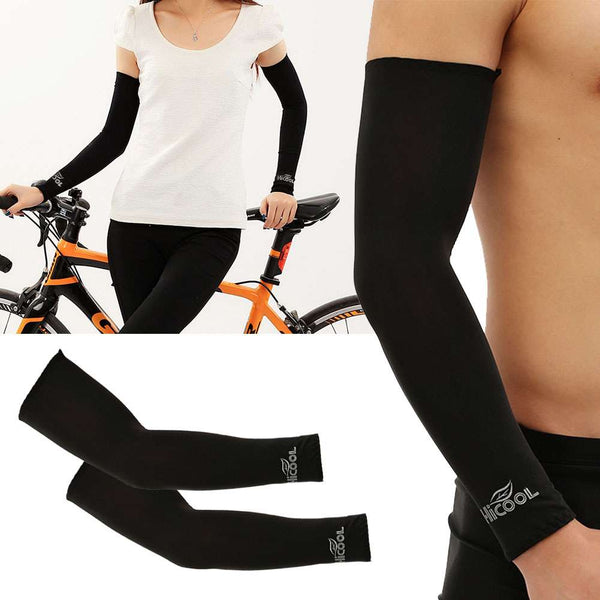 1 Pair UV Protection Arm Cooling Sun Compression Sleeves For Men Women