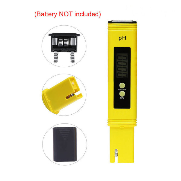 Digital PH Water Tester Detection Meter Water Purity Quality Filter Pen
