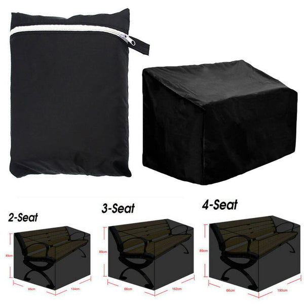 Waterproof Garden Patio Outdoor Bench Seat Lounger Sunbed Cover UV Protect