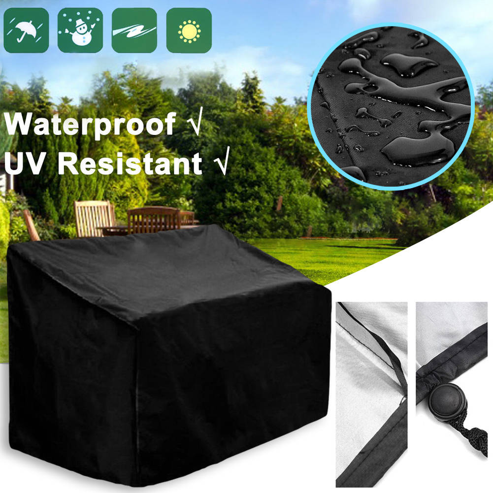 Magnificent Waterproof Garden Patio Outdoor Bench Seat Lounger Sunbed Cover Uv Protect Machost Co Dining Chair Design Ideas Machostcouk