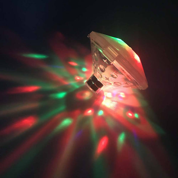 Floating RGB LED Disco Light Glow Show Swimming Pool Hot Tub Spa Lamp