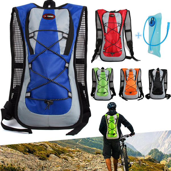 New Airflow Hydration Camel Backpack Cycling Hiking Camping Pack 2L