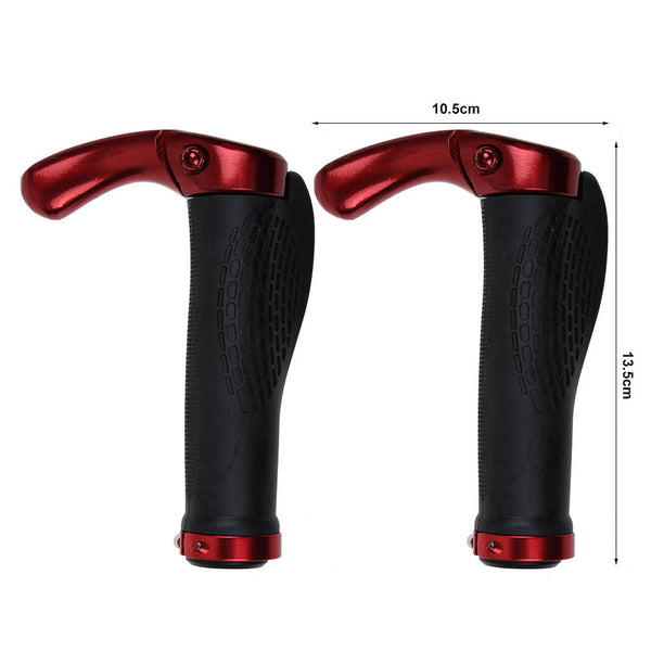 1 pair Bicycle Handlebar Grips Ergonomic Bicycle Grips Barends