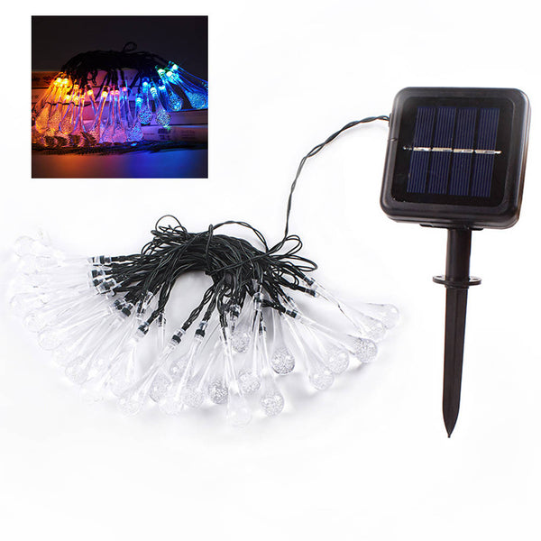 Solar Outdoor String Lights 5M 20 LEDs Fairy Waterproof Light For Party