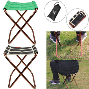 Portable Folding Chair Stool Fishing Camping Hiking Lightweight Outdoor