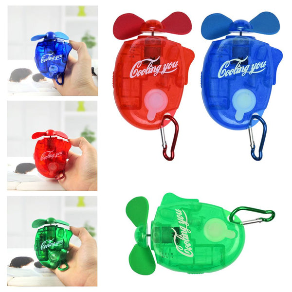 Mini Water Cooling Spray Fan Powerful Cool Mist Portable Handheld Gadget