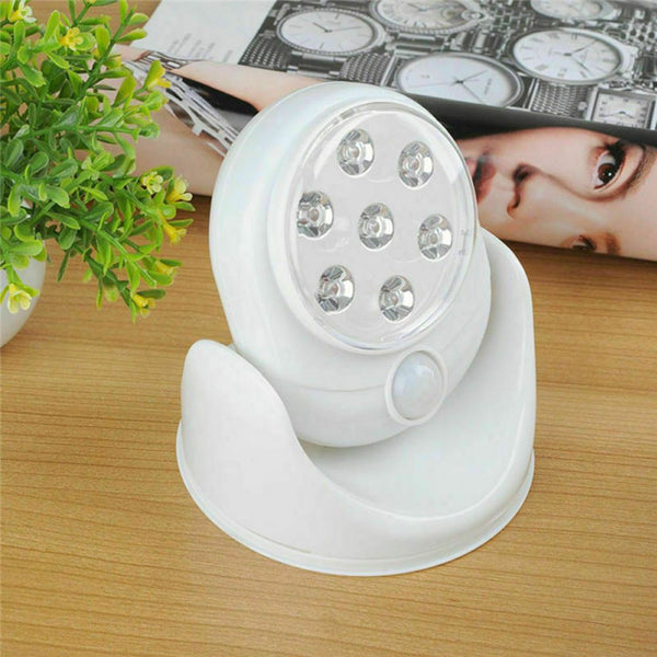Motion Activated Cordless Sensor LED Light Indoor & Outdoor
