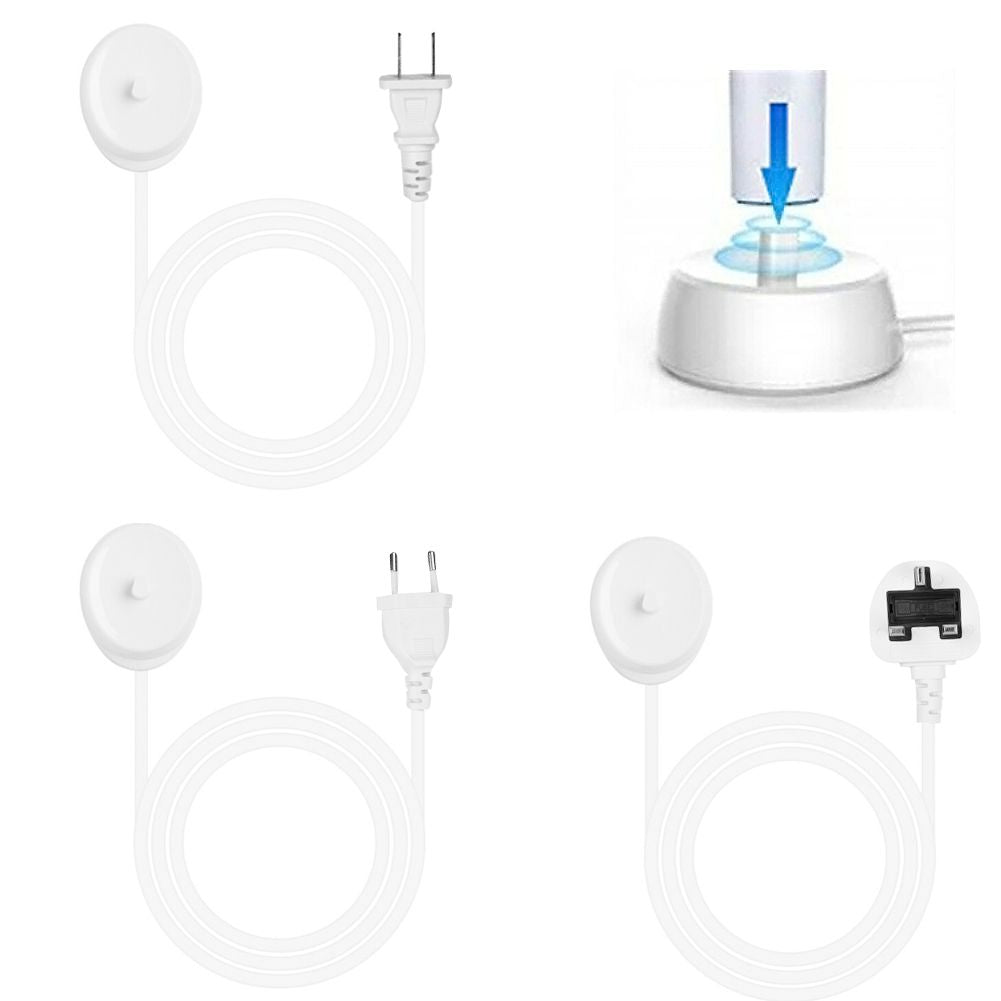 Electric Toothbrush Trickle Charger Charging Base Cord for Braun Oral-b