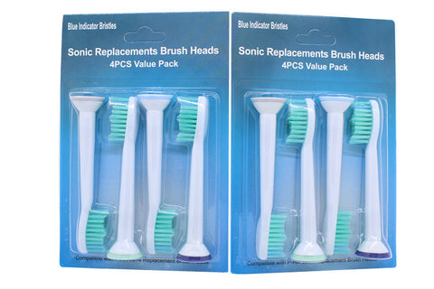 1pack/12pack Replacement Toothbrush Head for Philips Sonicare Brush Heads HX3 HX6 HX9 Series