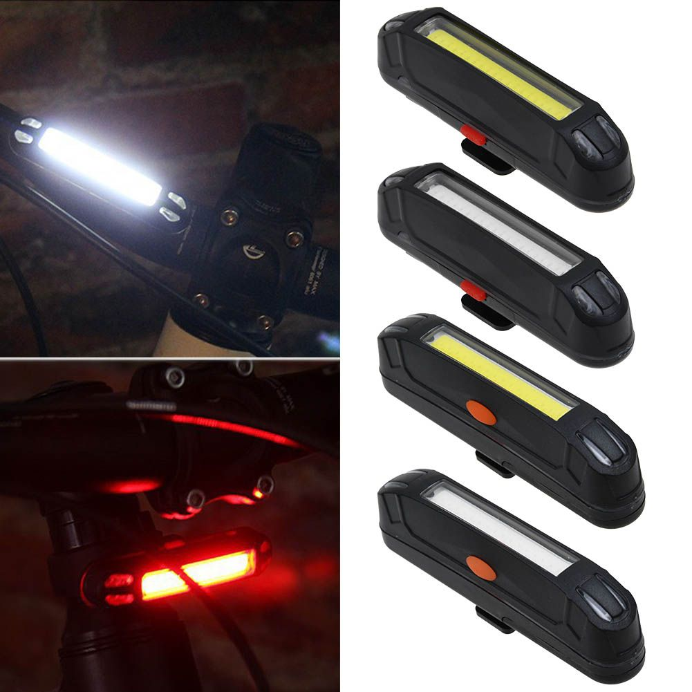 Solar Powered LED-Rear Flashing Tail Light for Bicycle Bike Cycling Lamp BT