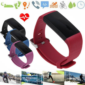 Z6 Smart Bracelet Heart Rate Monitor IP67 Waterproof Fitness Tracker Band