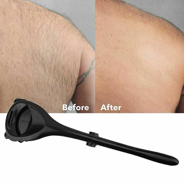 Two-Headed Blade Back Hair Shaver Trimmer Body For Men