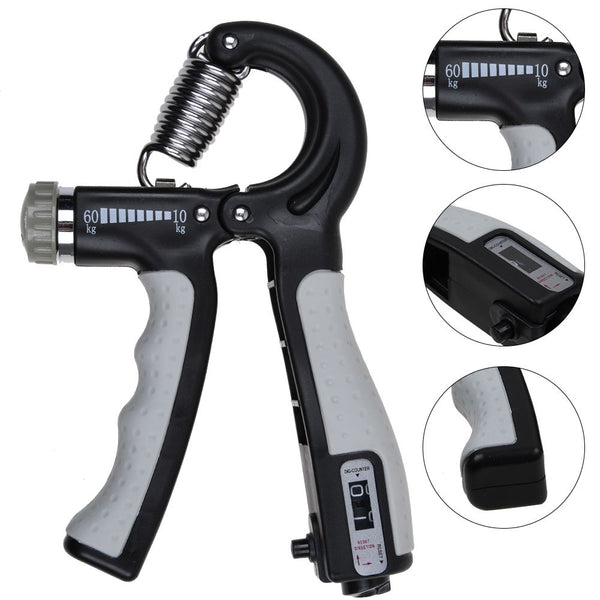 Adjustable 10-60KG Forearm Exerciser Hand Grip Gripper Strength Training