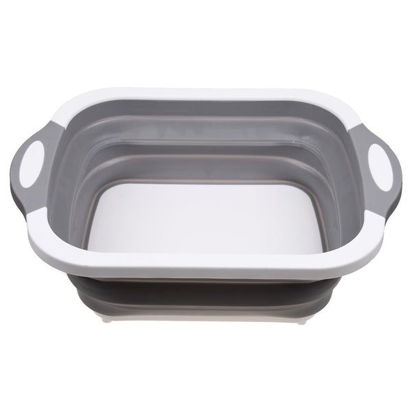 Chopping Board Folding Drain Basket Multifunction 2 In 1 Sink Cutting Board
