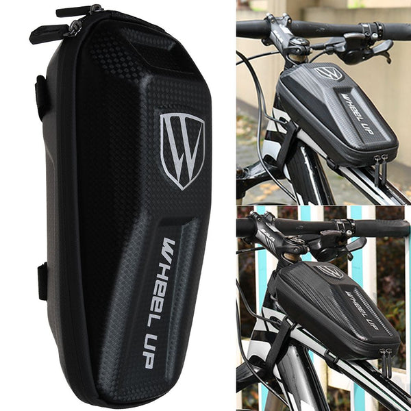Bicycle Front Frame Waterproof Bag Cycling Bike Tube Pouch Holder Pannier