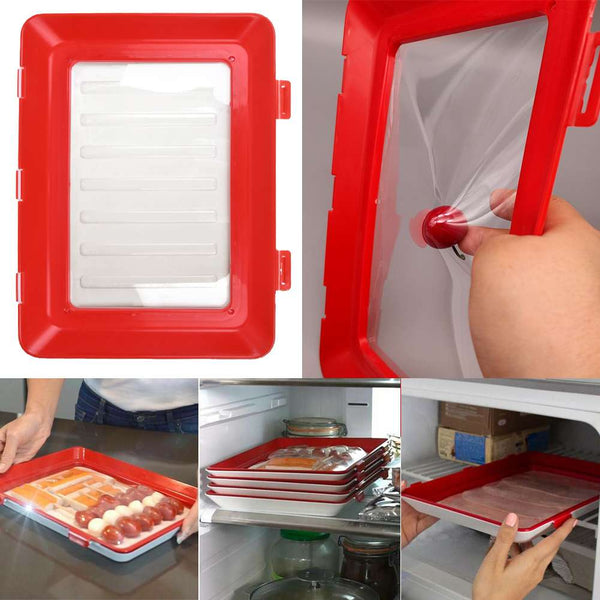 Creative Healthy Food Preservation Tray Storage Container Set Kitchen Tools
