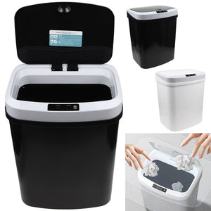 15L Automatic Touchless Trash Can Sensor Dustbin Smart Waste Garbage Bin