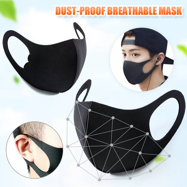5Pc Adult/Kids Face Covering Breathable Face Mouth Face Covering Respirator