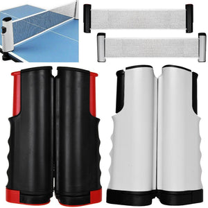 Retractable Table Tennis Ping Pong Portable Net Kit Replacement Set