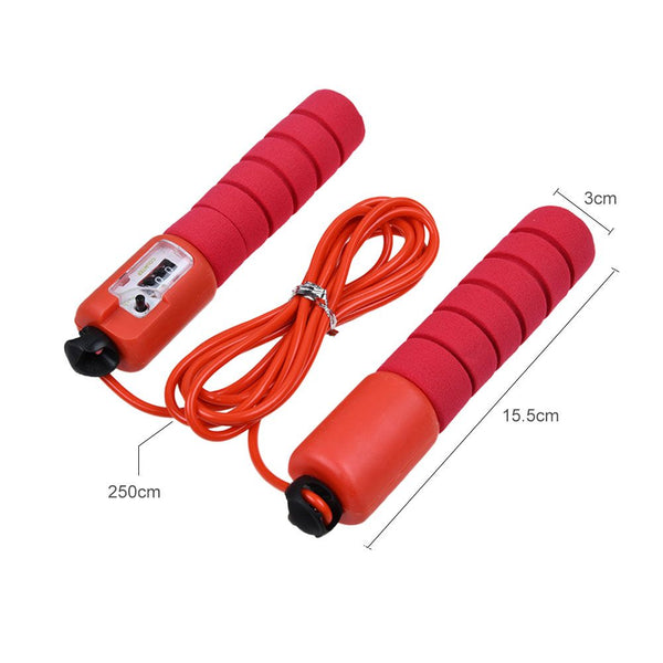 Kid Adult Skipping Jump Rope Counter Exercise Jumping Game Fitness Activity