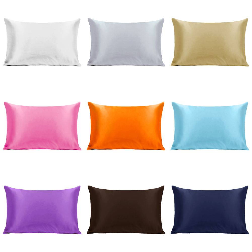 Silk Pillowcase. Silky Soft. Silk Both Sides. Luxury Pillow Cases