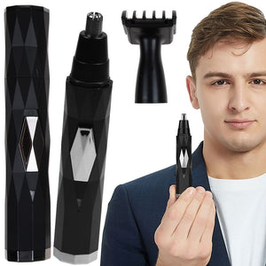Men's Electric Nose Hair Trimmer USB Charging Mini Eyebrow Shaver Set