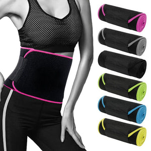 Men Women Waist Girdle Sport Belt Tummy Corset Weight Loss Fat Burner