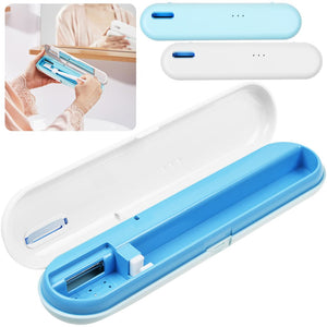 USB Rechargeable UV Ultraviolet Toothbrush Sanitizer Sterilizer Holder