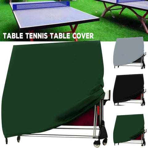 210D Large Ping Pong Tennis Table Cover Protector Waterproof Storage Sheet