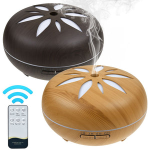 550ml Aroma Diffuser LED Ultrasonic Aromatherapy Air Humidifier Purifier