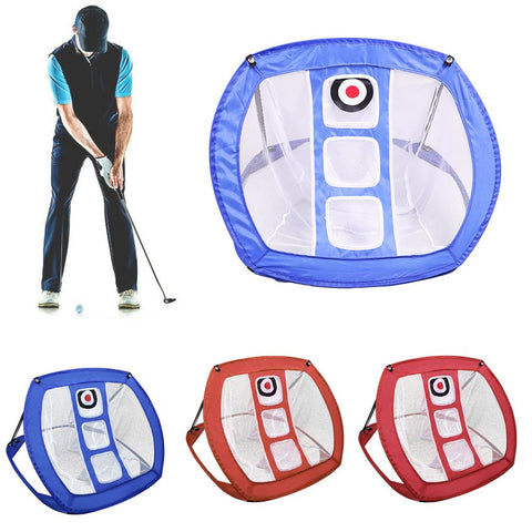 Golf Net Practice Chipping Putting Mats Drive Training Tools Target Outdoor
