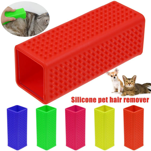 Pet Dog Cat Hair Remover Fur Lint Shedding Brush Cleaning Cleaner