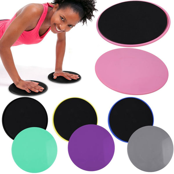 2xMen Women Fitness Gym Abs Exercise Core Workout Core Sliders Gliding Discs