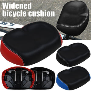 Big Ass Bicycle Mountain Bike Noseless Saddle Wide Large Soft PU Pad Seat