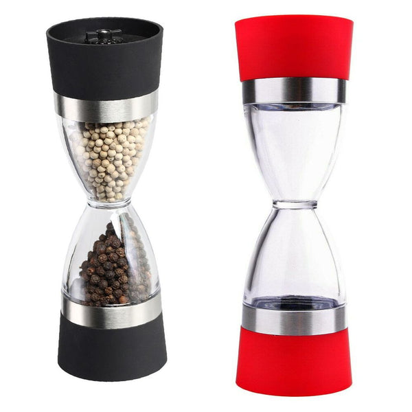2 In 1 Core Manual Salt Pepper Mill Grinder Grind