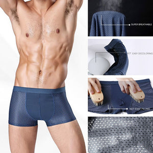 4pcs/set Men's underwear breathable boxers shorts