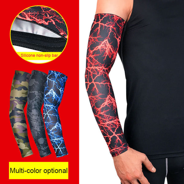 UV Protection Running Cycling Arm Warmers Basketball Volleyball Arm Sleeves Bicycle Bike Arm Covers Golf Sports Elbow Pads
