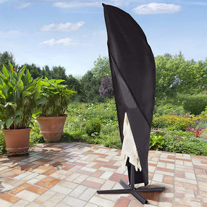 Large Cantilever Banana Outdoor Deluxe Umbrella Patio Parasol Protective Cover