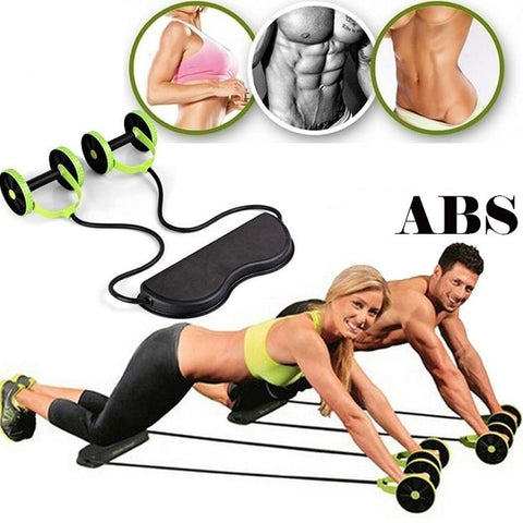 Multi - Function RallyCrane Fitness RX Powful Abdominal Trainer ABS Workout KIT Resistance Exercise Equipent